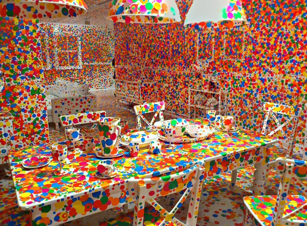 Yayoi Kusama, The obliteration room, 2002.