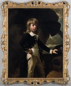 From the Met's collection: John Singleton Copley, 'Midshipman Augustus Brine,' 1782.