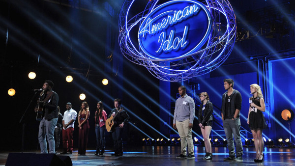 "AMERICAN IDOL XIII: Contestants compete in the all-new ""Hollywood or Home"" episode of AMERICAN IDOL XIII airing Wednesday, Feb. 5 (8:00-10:00 PM ET/PT) on FOX. CR: Michael Becker / FOX. Copyright 2014 FOX BROADCASTING."
