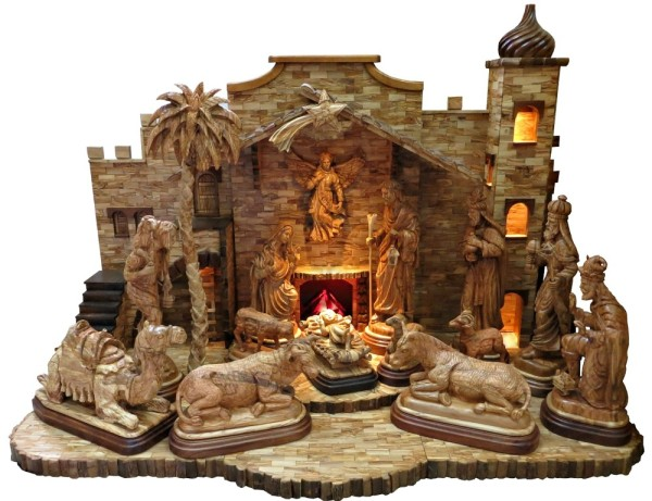expensive nativity