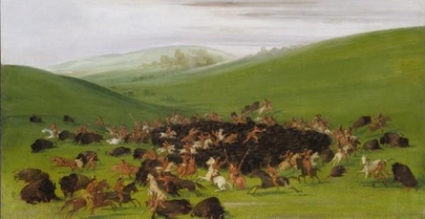 george catlin american buffalo