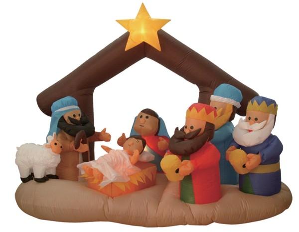 inflate nativity