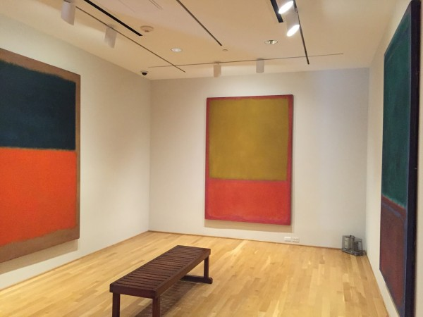 The Rothko Room at the Phillips Collection, Washington D.C.