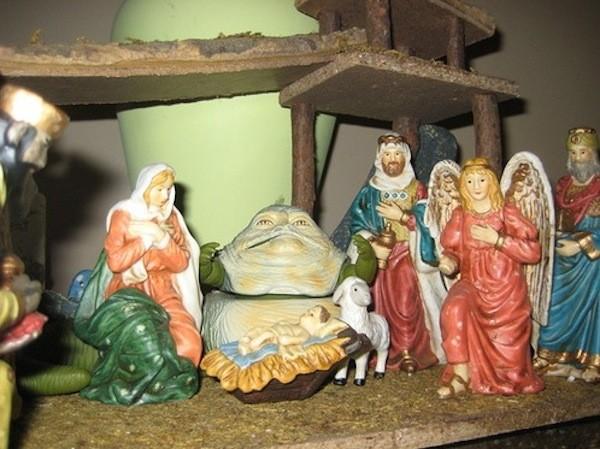 star wars nativity