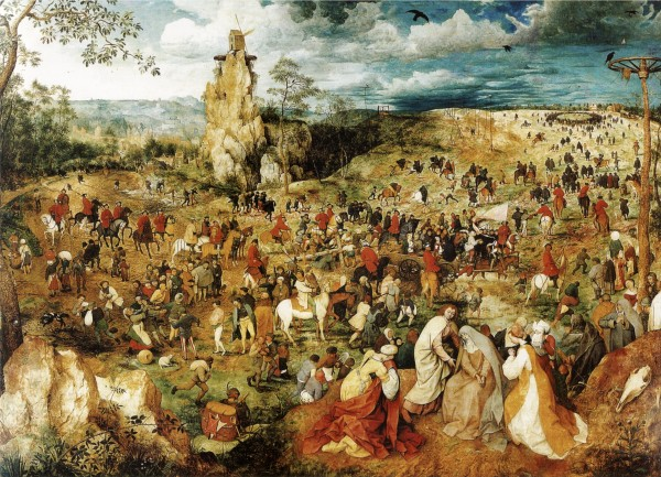 Pieter Brueghel the Elder, The Procession to Calvary, 1564