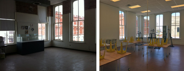 Galveston-Arts-Center-classroom-before-and-after