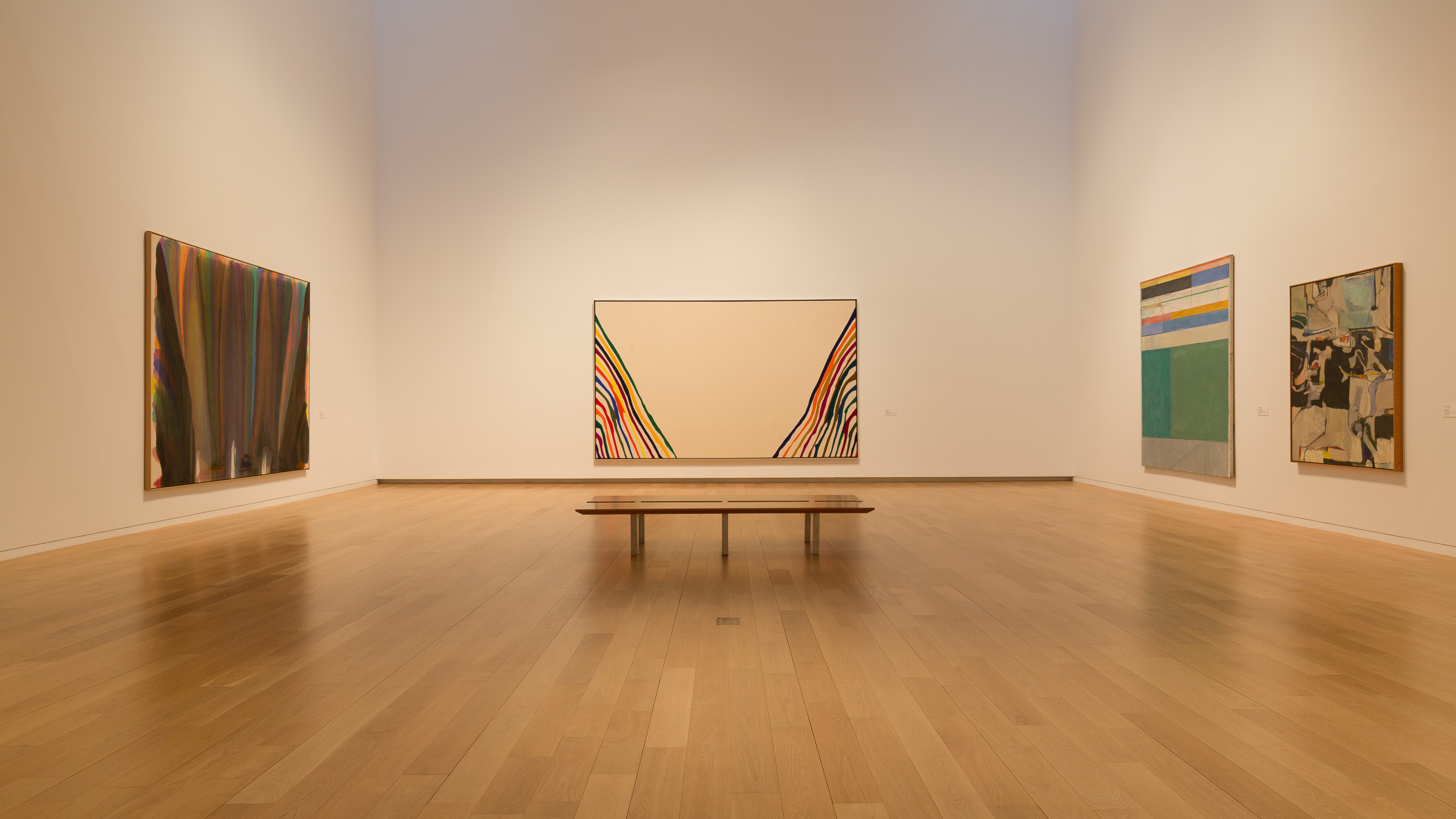 Morris Louis at the Modern in Fort Worth (with a couple of Diebenkorns)