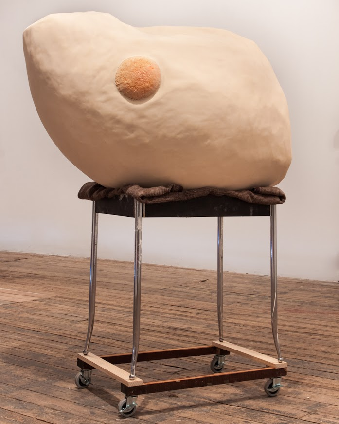 Anne Rogers' Mass on Table on Dolly, 2016