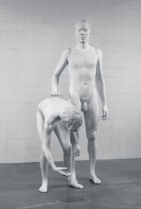 Huck and Jim, Ray's sculpture rejected by the Whitney