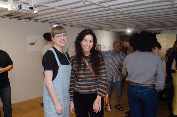 Patricia Restrepo and friend