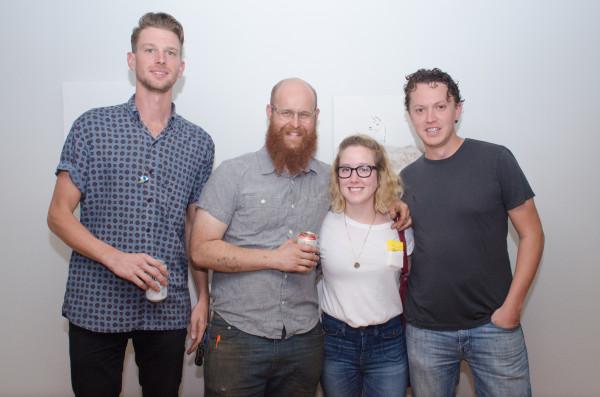 Alex Larsen, Patrick Renner, Emily Peacock, Drew Bacon