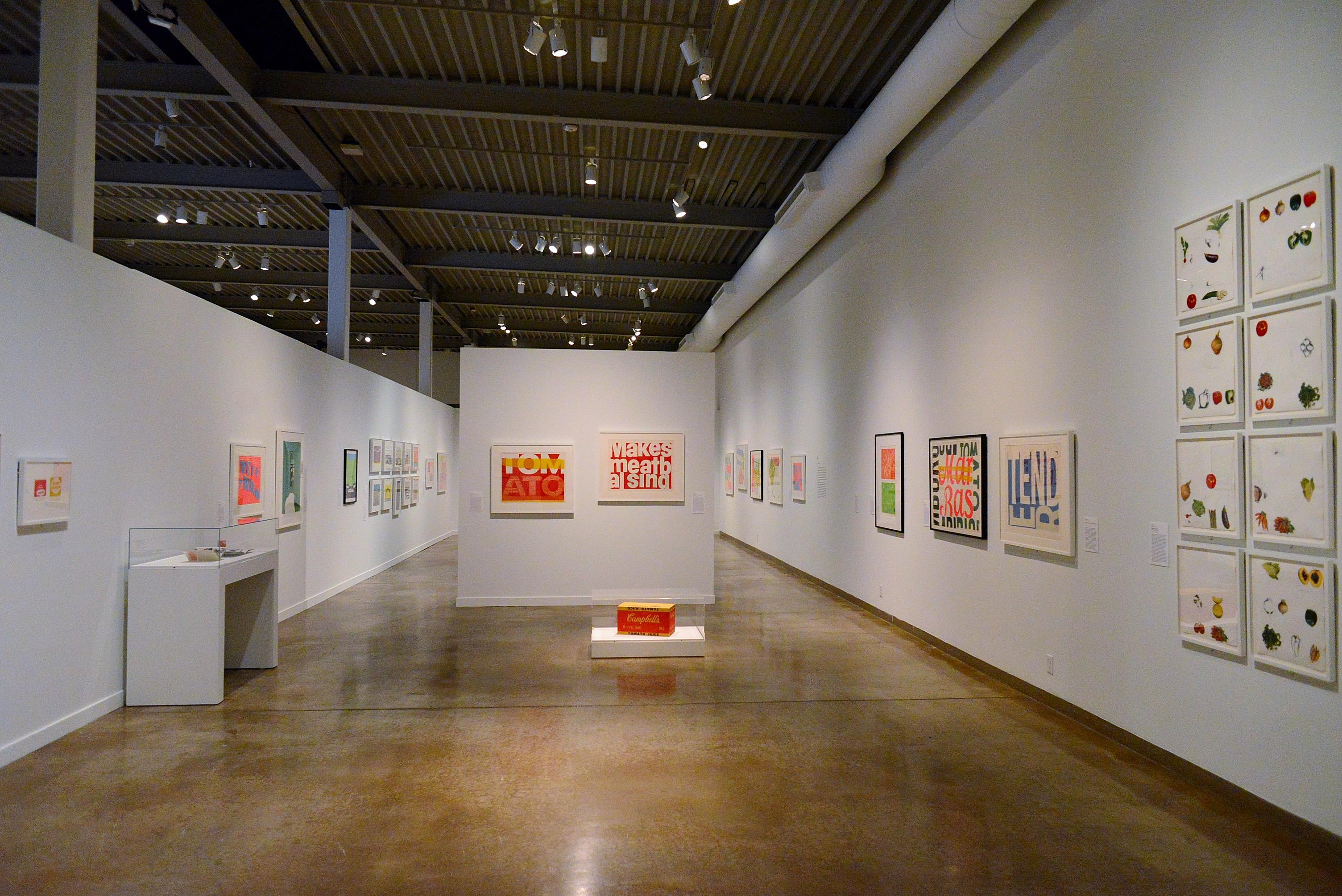 Corita Kent and the Language of Pop, San Antonio Museum of Art, February 2016.