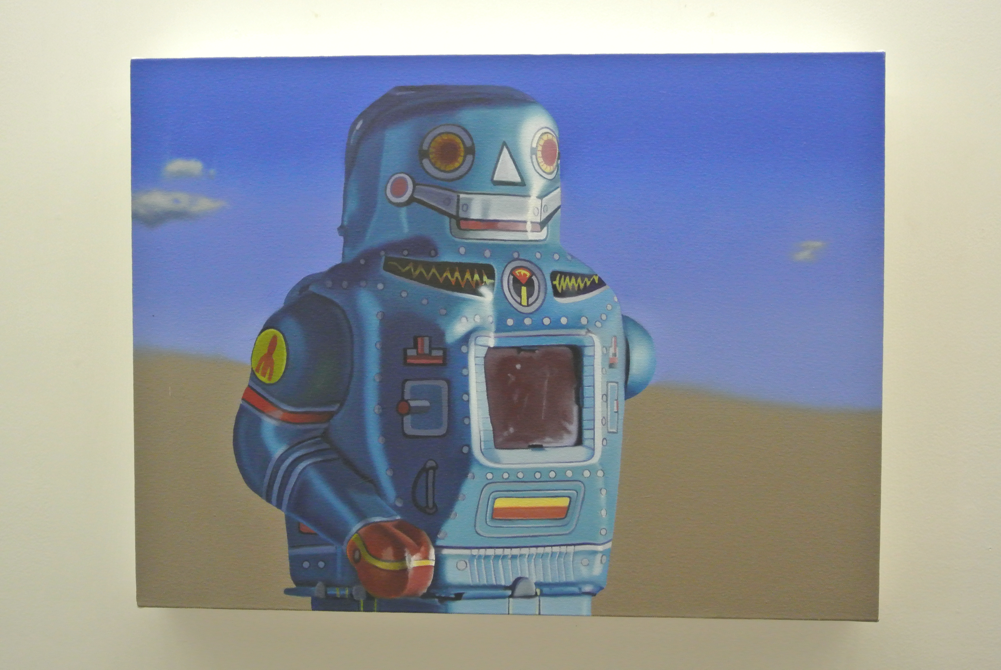 John Hartley, Mars, oil on canvas.
