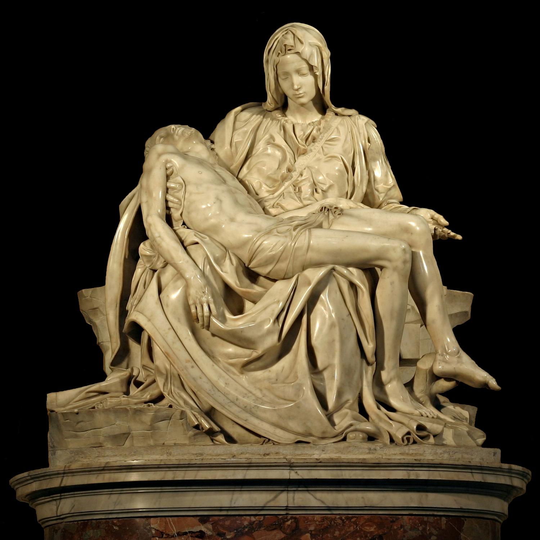 Michelangelo di Lodovico Buonarroti Simoni, Pieta, St. Peter's Basilica, 1498–1499