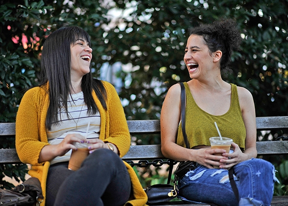 Abbi and Ilana from Broad City