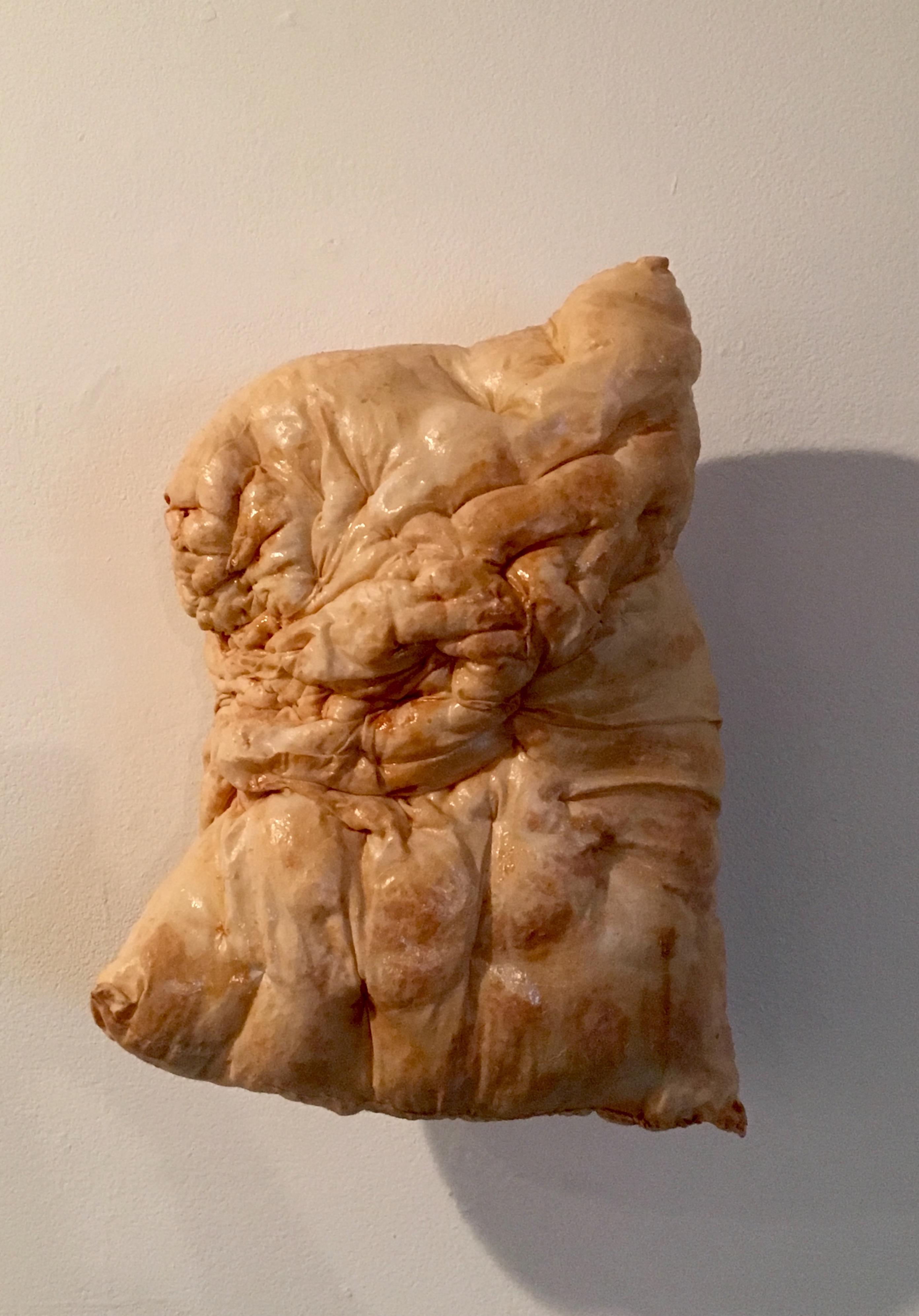 Jade Abner, Cradle Potato, 2012. Latex, chiffon, thread, poly-fil, velcro.