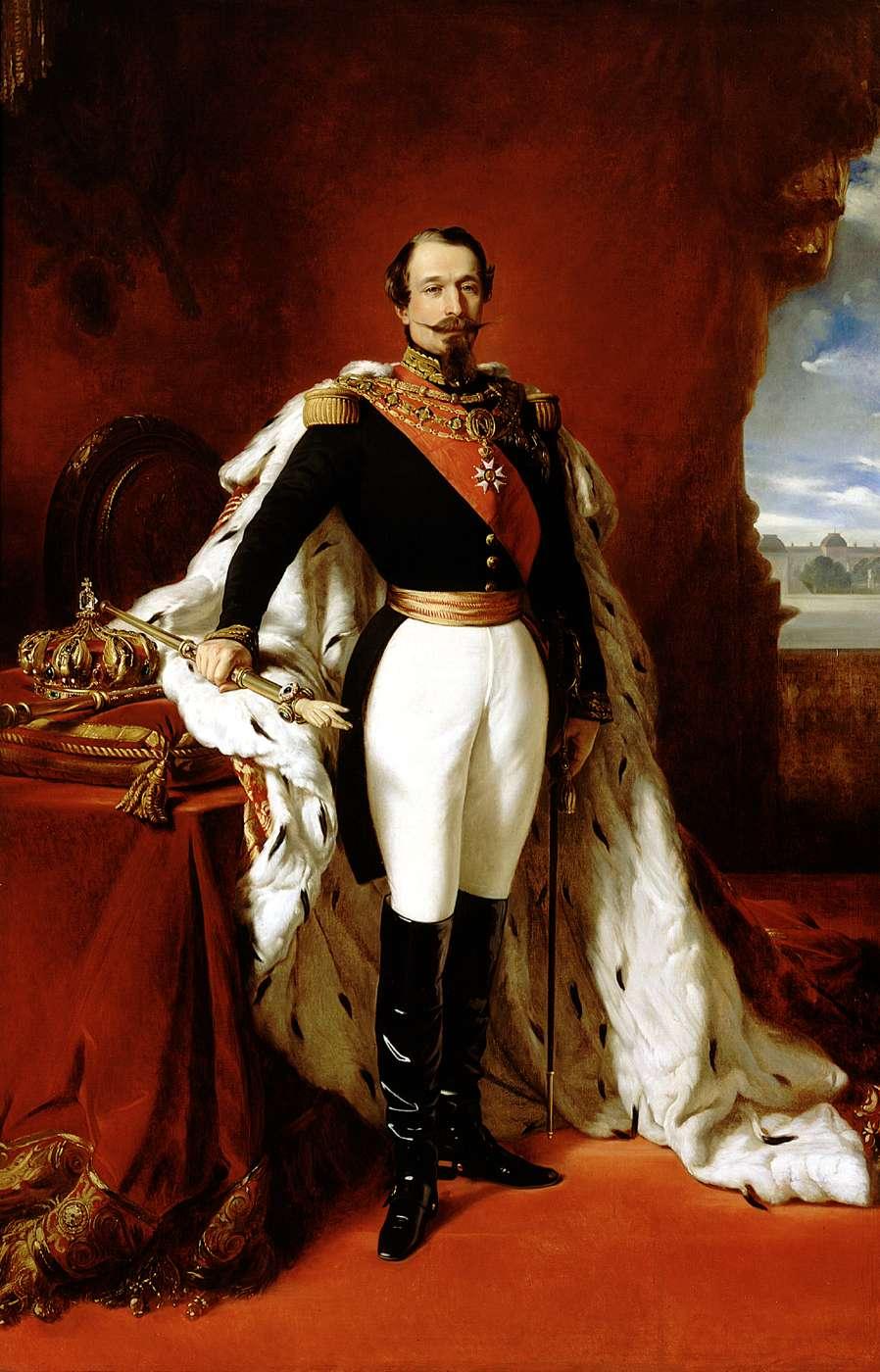 Franz X. Winterhalter, Portrait of Napoleon III, 1852