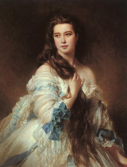 Franz X. Winterhalter, Madame Rimsky-Korsakov, 1864