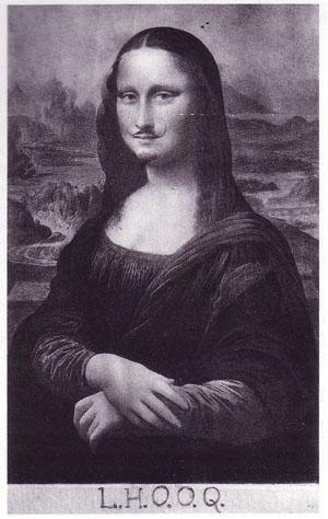 Marcel Duchamp, LHOOQ (1919)