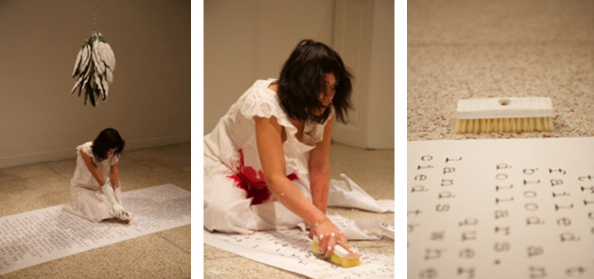 The Indictment of Cora Montgomery, 2015, performance, Guadalupe Cultural Arts Center