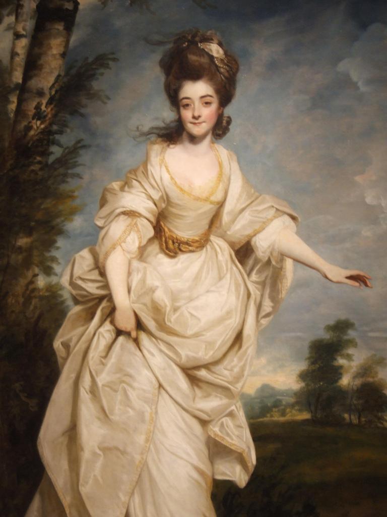 Joshua Reynolds, Diana (Sackville), Viscountess Crosbie, 1777