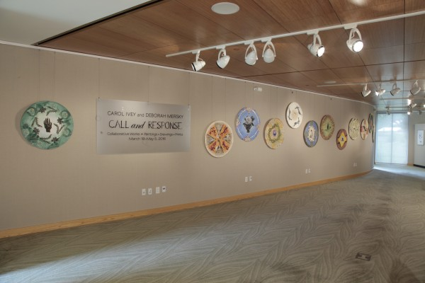 Installation View, Call and Response