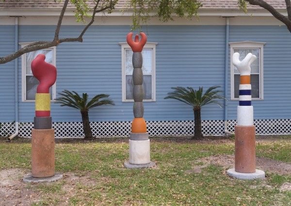 Three works acquired by Rockport Center for the Arts, l-r: The False Shadow of Transformation (2009-13); The Inevitable Question (2007-10); The Lure of Simple Inclinations (2008-10)