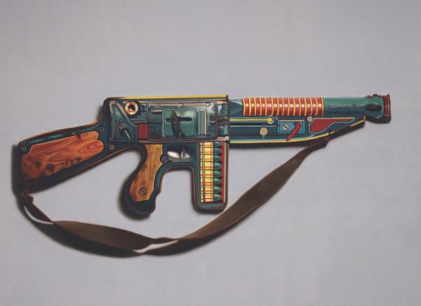 John Hartley, Gamechanger, oil on canvas