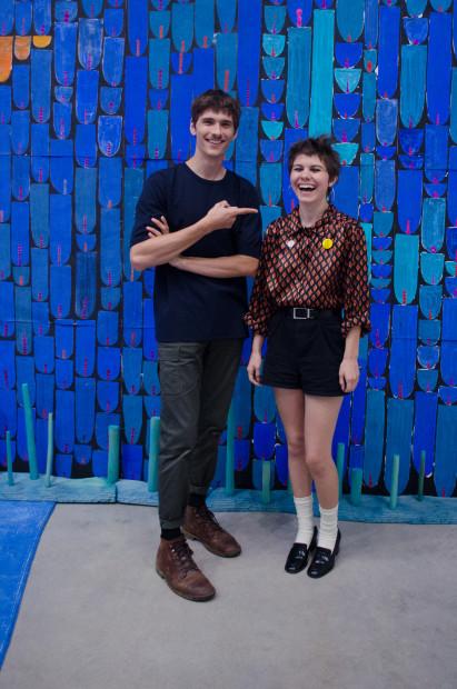 Andrew Schmidt and Megan Gonzalez