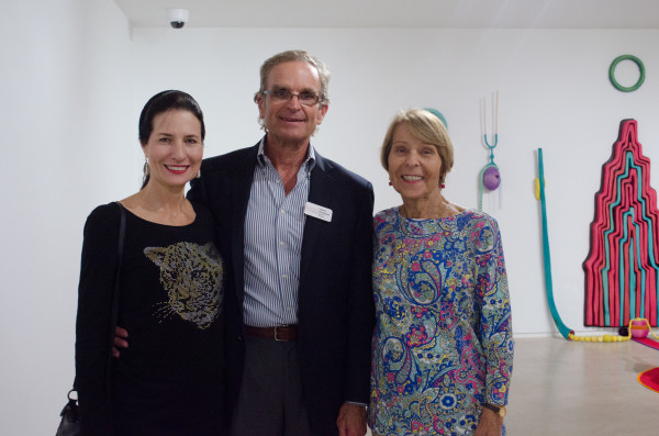 Deborah Thomas, James Rosengrenm, and Doris Thomas