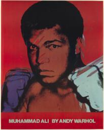 Andy Warhol, Muhammad Ali, 1978