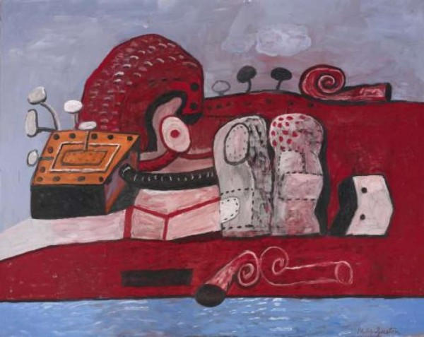 What do the shoes mean in philip guston paintings