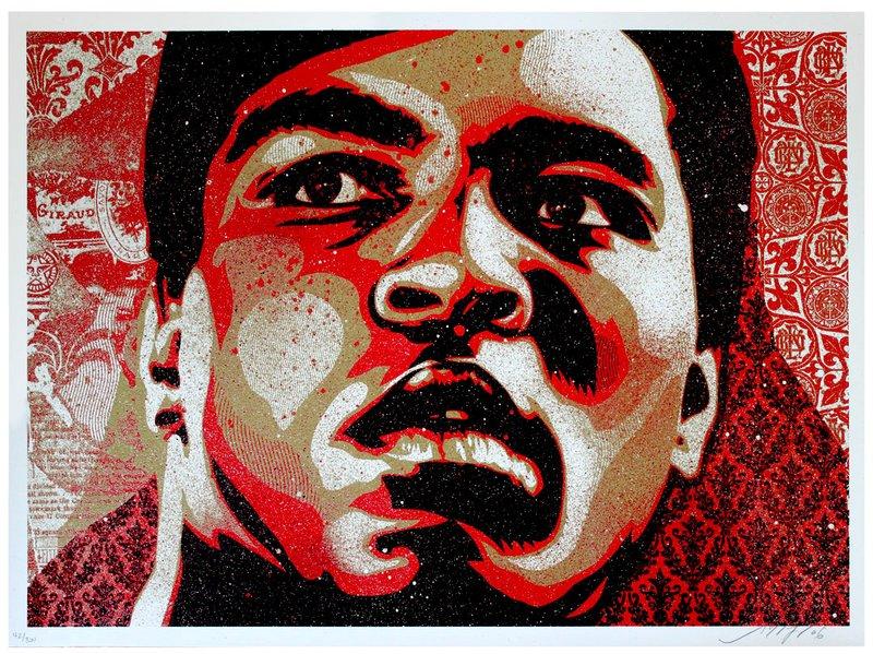 Shepard Fairey, Muhammad Ali