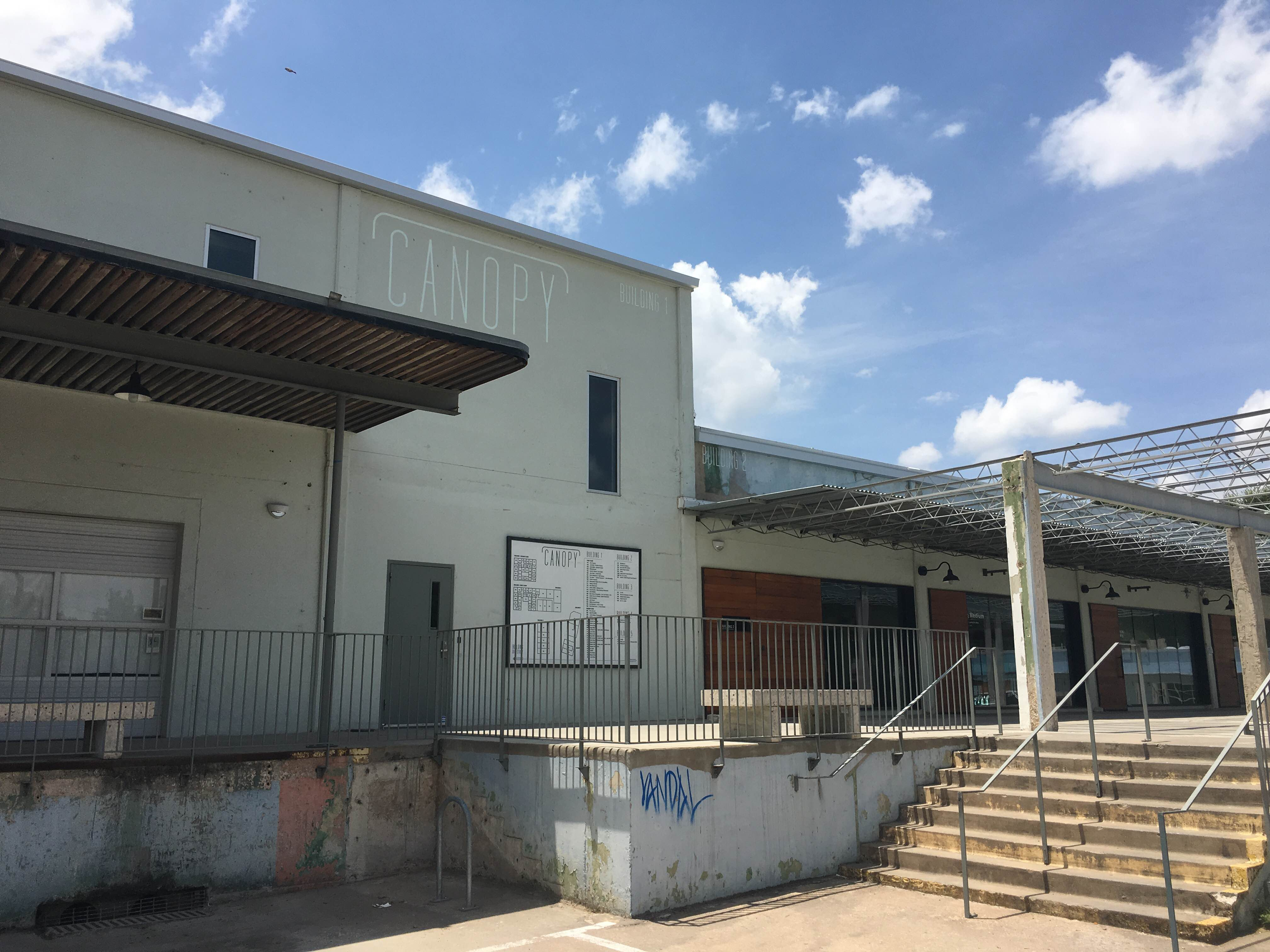 Canopy, located at 916 Springdale Rd, is home to Big Medium and is considered by some to be a pillar of the East Austin Art scene.