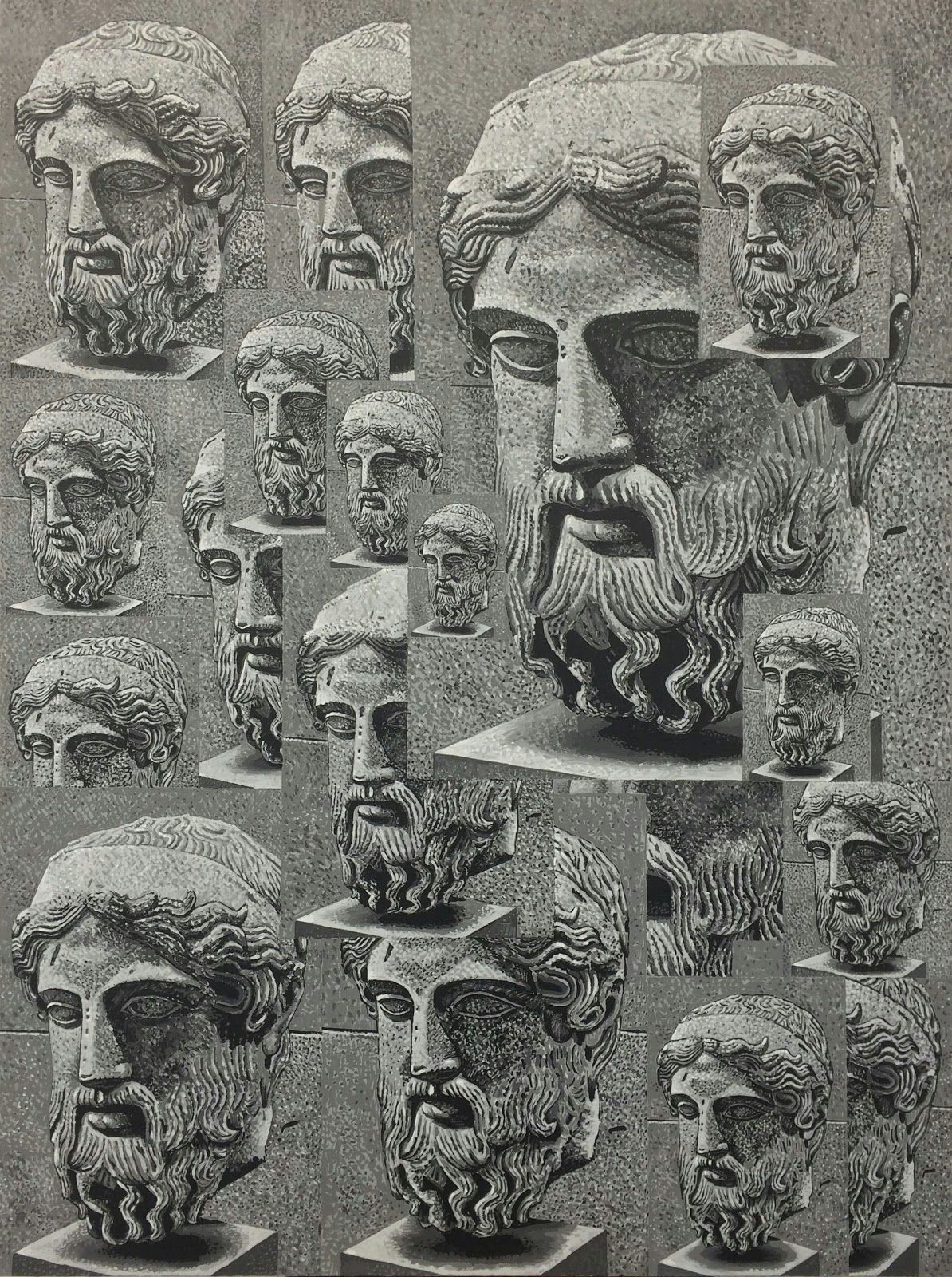 Overlapping Heads From a Herm