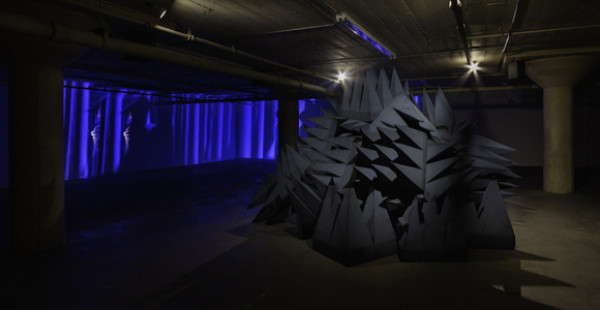 Lutz Bacher installation shot