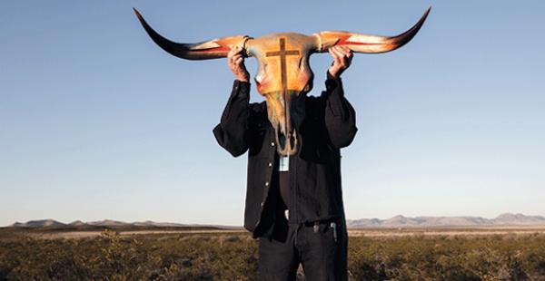 Boyd Elder cow skull