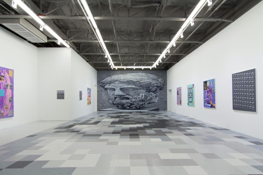 Matthew Zefeldt installation