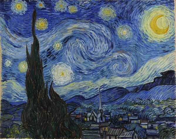 Vincent van Gogh, The Starry Night, 1889