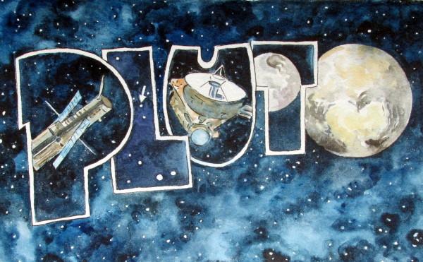 Scott Winterrowd, Pluto, 2015