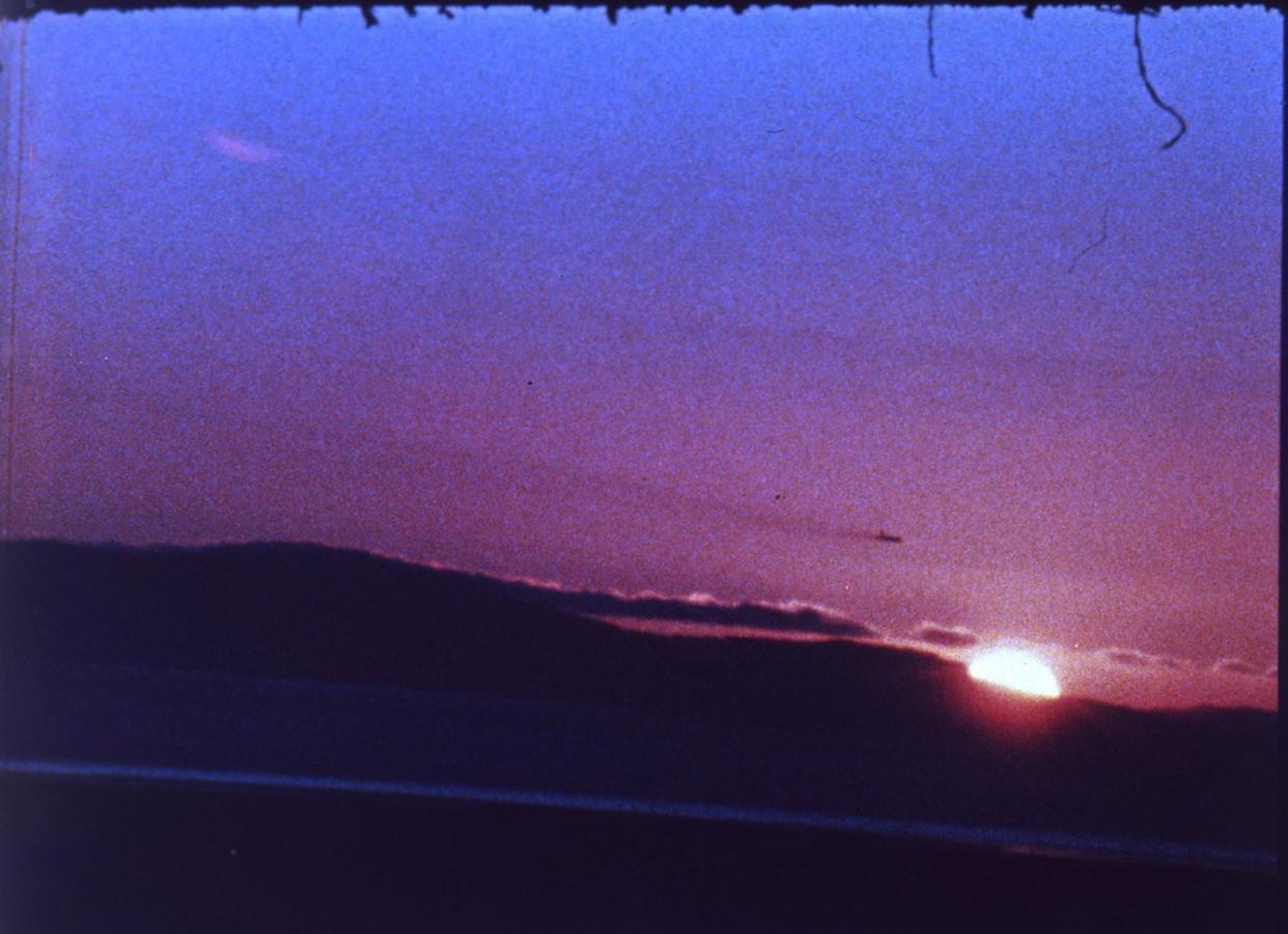 warhol sunset