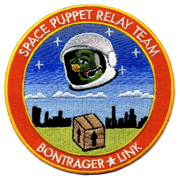 Nick Bontrager & Emily Link, Space Puppet Relay Team