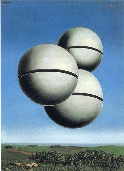 René Magritte, The Voice of Space, 1928