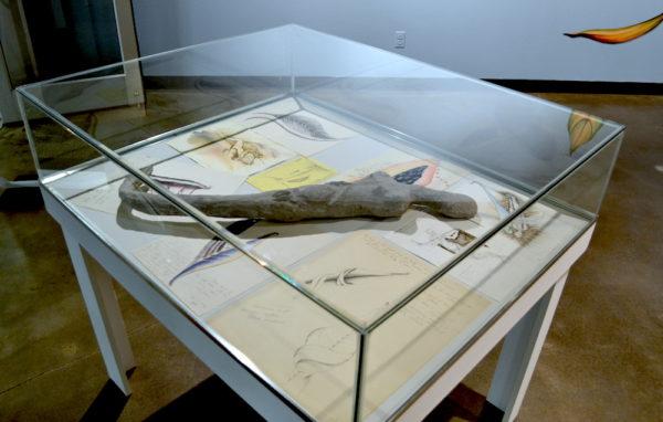 Armless Mermaid, 1989, papier mache