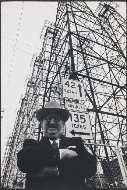 Elliott Erwitt, Kilgore, Texas, 1963. Harry Ransom Center Collection © Elliott Erwitt/Magnum Photos