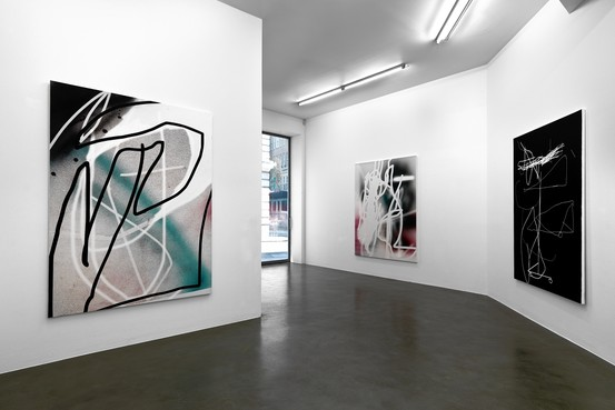 A Jeff Elrod show at Journal Gallery, NYC