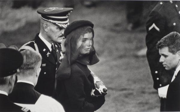 Elliott Erwitt, Arlington, Virginia [Jacqueline Kennedy and Robert F. Kennedy at the funeral of John F. Kennedy], 1963. Harry Ransom Center Collection © Elliott Erwitt/Magnum Photos