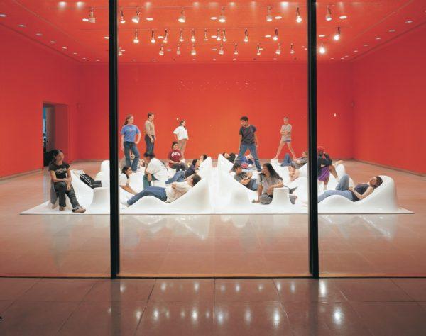 Karim Rashid's Pleasurscape, 2001, Rice University Art Gallery