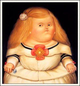 Fernando Botero, Menina (After Velazquez)
