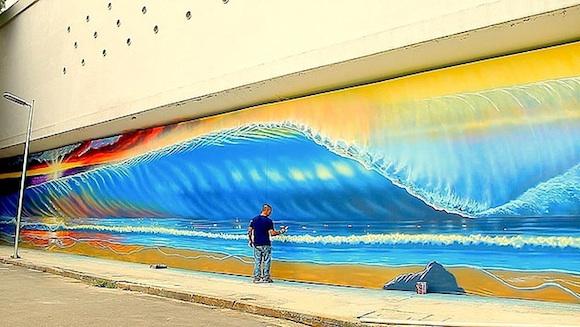 Brazilian artist Milton Alves will participate.